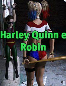 Harley Quinn e Robin – Mad Shota Love – Sexo com o novinho