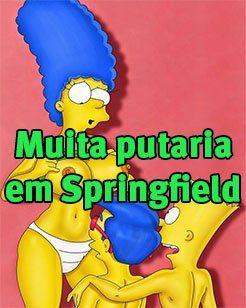 Os Simpsons Hentai – Muita putaria em Springfield