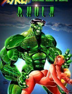 As aventuras sexuais do Incrível Hulk – Quadrinhos Porno