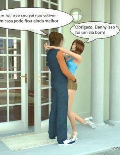 Hentai 3D – Incesto Pai fode as duas filhas – Contos Eróticos