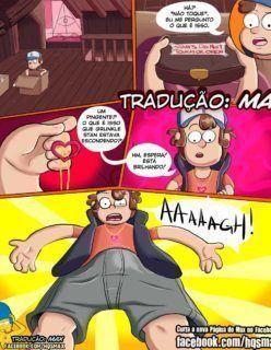 Hentai Gravity Falls – Grabba-These Balls – Quadrinhos de Sexo