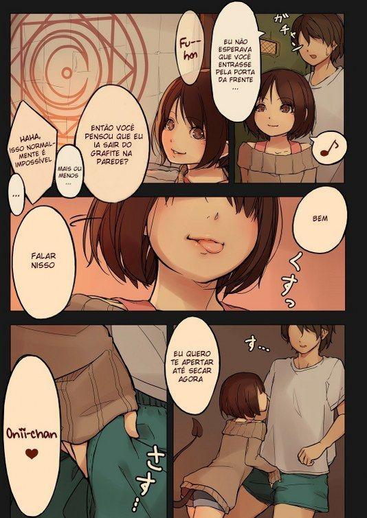 Hentai Lolita - Garota solitário, pequena pervertida - Quadrinhos de sexo