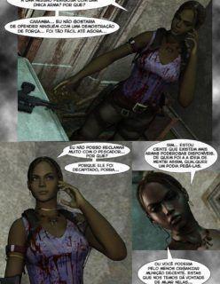 Hentai – Resident Evil 5 – HQ Adulto, Quadrinhos Porno