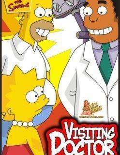 Levando Lisa no Ginecologista e fodendo com a novinha