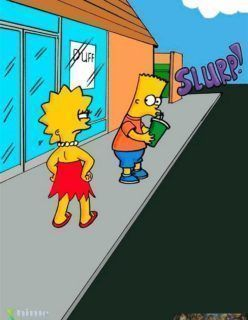 Lisa ganha um pênis e fode sua mãe – Os Simpsons Hentai