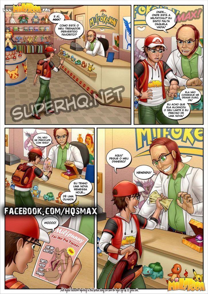 Milfpokemon Pre-Go Final – Milftoon Comics, Quadrinhos Porno