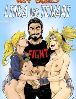 Naruto Hentai Linka vs Temari lutando peladas