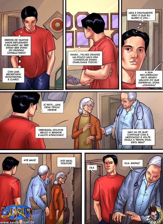 O Médico Assistente - Quadrinhos Eróticos - HQ Adulto