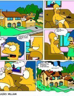 Os Simpsons – Quadrinhos de Sexo – Lisa a Safada