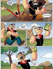Popeye fodendo bem gostoso com a Olivia Palito – HQ Adulto