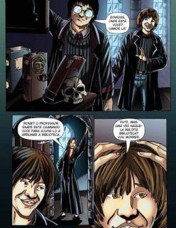 Quadrinhos Eróticos – Harry Potter – Fodendo com a Hermione