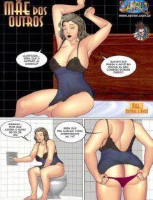Quadrinhos Eróticos – Comendo a mãe do melhor amigo – HQ de Sexo
