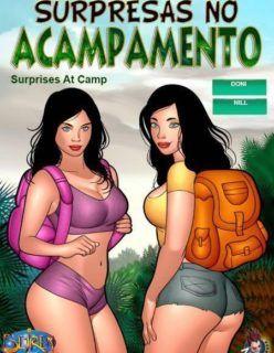 Surpresa no Acampamento – Quadrinhos Porno – HQs Eróticos
