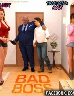 Hentai 3D – Bad Boss – O chefe malvado – Quadrinhos de sexo