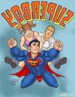 Hentai Gay – Superboy – Quadrinhos de sexo