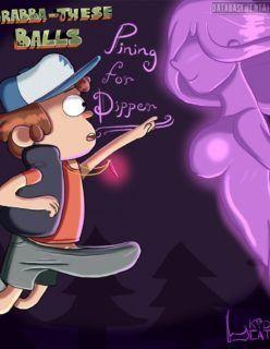 Hentai Gravity Falls – O pingente mágico de Dipper – Cartoon Porno