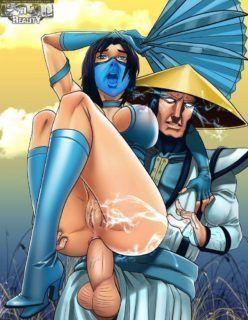 Mortal Kombat Hentai – A batalha do sexo