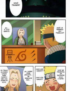 Naruto Hentai – Fodendo Tsunade – Quadrinhos Eróticos – Parte 1