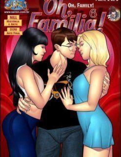 Oh Família – Quadrinhos Porno – HQ Adulto Part 7
