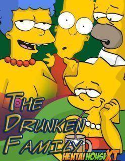 Os Simpsons Hentai – Família Bebada