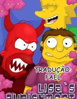 Os Simpsons Hentai – Punindo Lisa – Quadrinhos Incesto
