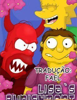 Os Simpsons Hentai – Punindo Lisa – Quadrinhos Incesto