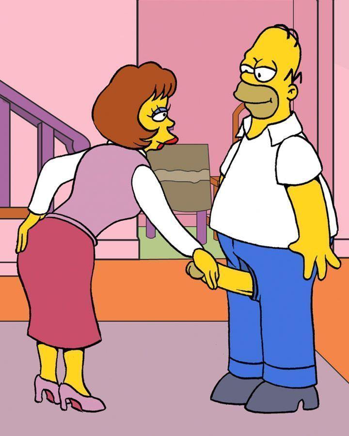 Os Simpsons Porno - Homer fodião