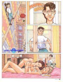 Quadrinhos Eróticos – Flagrando o sexo das gostosas – Contos Porno
