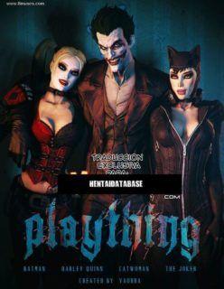 Batman Erótico – liga da justiça porno – Quadrinho Porno 3D