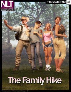 Hentai 3D – The Family Hike – Quadrinhos Incesto
