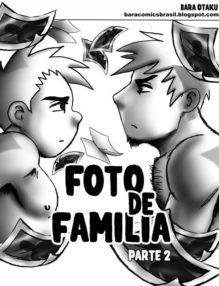 Hentai Gay – A foto de família Parte 2 – Arrombando meu irmão – Incesto Gay