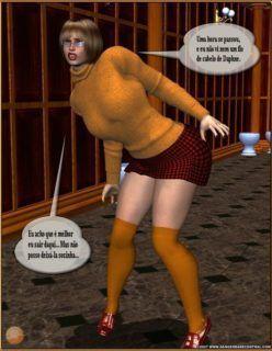 Scooby-Doo – O Estuprador de vaginas Parte 2 – Quadrinhos 3D – Quadrinhos Porno