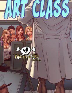 HQ Adulto – Sexo na sala de Artes – Quadrinho Erótico