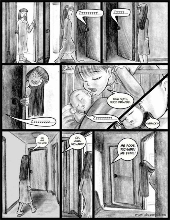 Quadrinho Erótico – Ay Papi #5 – Uma foda de outro mundo – Cartoon Porno