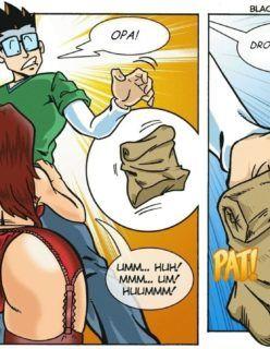 Cartoon Porno – Camarão Frito Parte 2 – Transando com as clientes – Quadrinho Erotico