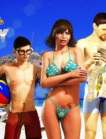Férias em família e casamento em apuros – Hentai 3D