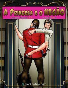 Quadrinho Porno – A princesa e o negão no hotel de luxo – HQ Erótico