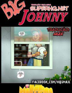 Big Johnny – Louco para foder a buceta da mamãe – Quadrinho Incesto