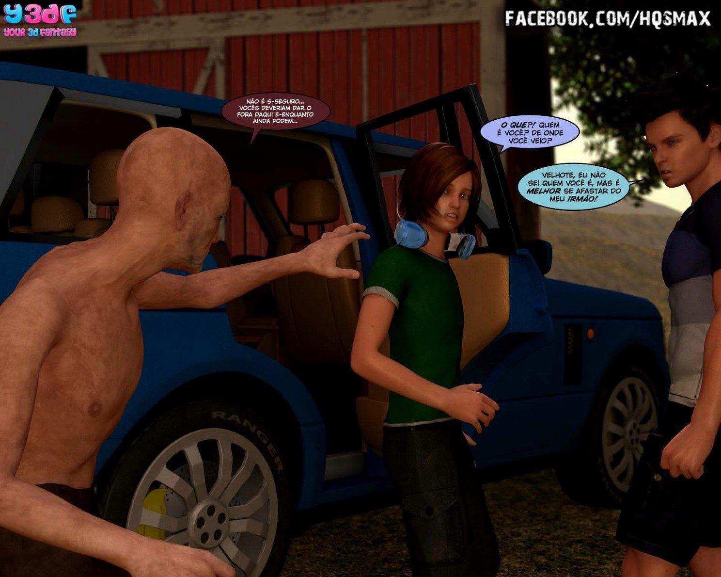 Strangers in a StrangeLand - Sacanagens com a namorada gostosa