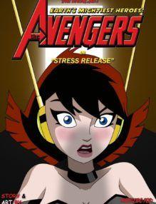 The Avengers Stress – Relaxando do Stress – Cartoon Porno