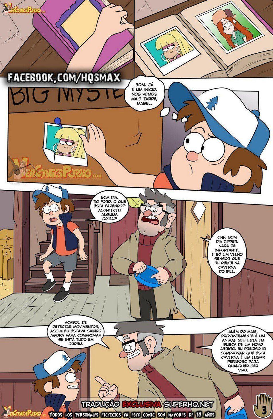 HQ Porno - Gravity Falls 2 - Um verão de prazeres
