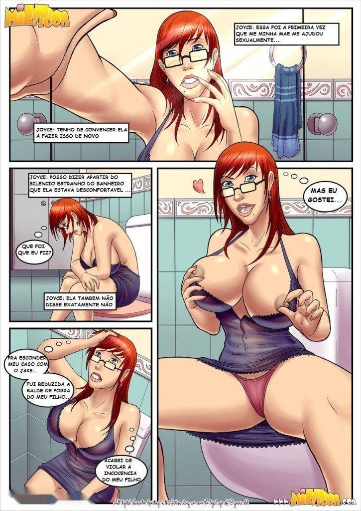 Milftoon Boobs 1 e 2 - Os peitões gostosos da mamãe - Quadrinho Erotico