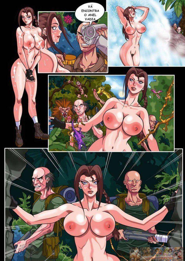 Tomb Raider - Lara Croft dando o cu - Hentai Brasil