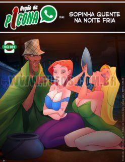 Tufos – Negão da Picona – Sopinha quente na noite fria