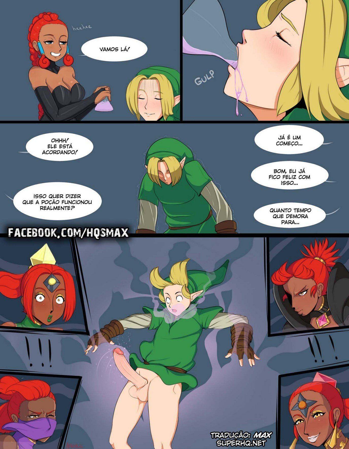 Zelda Hentai – Alternate Destinies - Uma transa não esperada