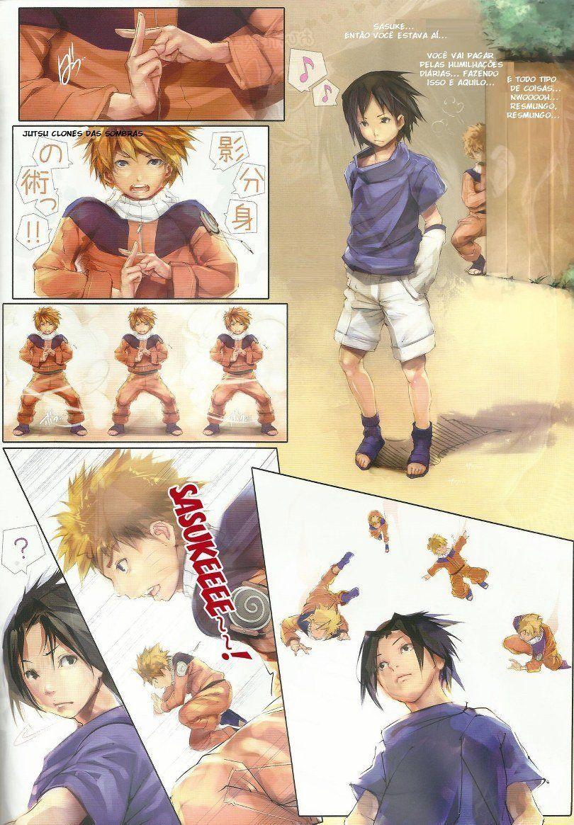Hentai Gay - Naruto x Sasuke 3 - Sexo entre amigos
