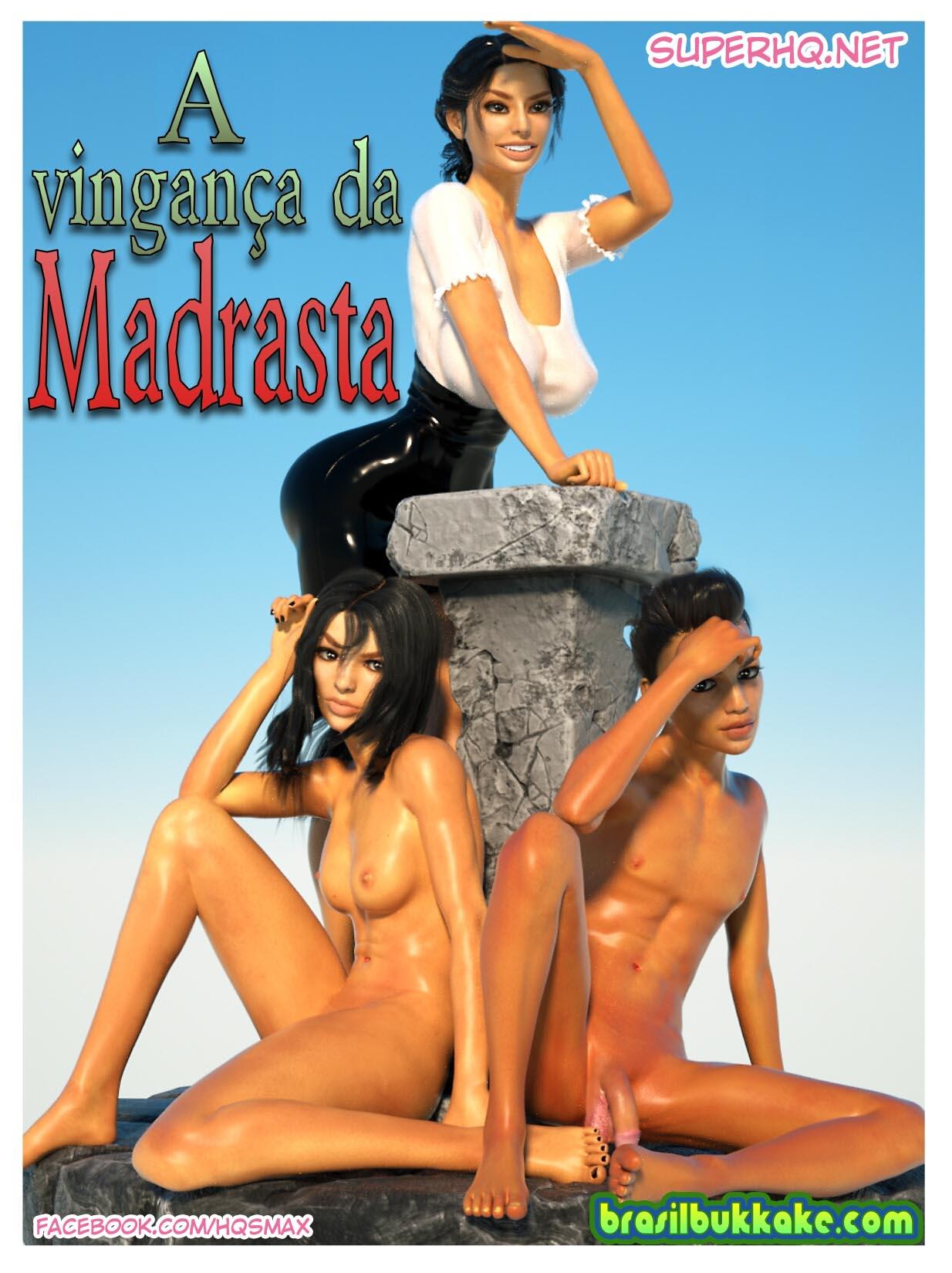 HQ de Sexo - A Vingança da Madrasta - Futanari 3D