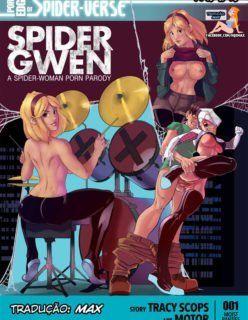 Quadrinhos Eroticos – Spider Gwen – Homem aranha surpreendido pela namorada