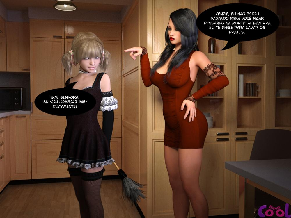Hentai 3D - Me Sirva Bem - Futanari