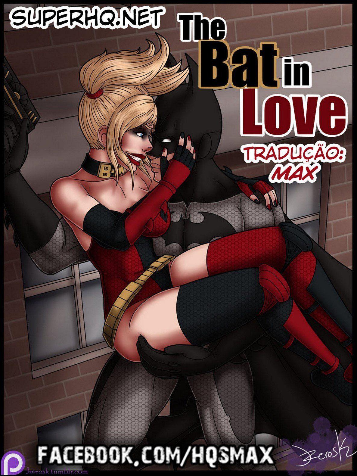 HQ Hentai - Batman e Arlequina em sexo apaixonado